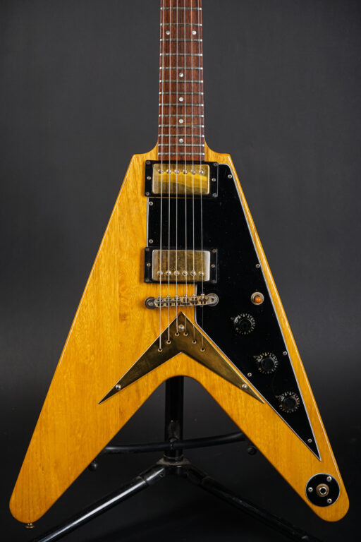 1982 Gibson Flying V Heritage Korina - Natural