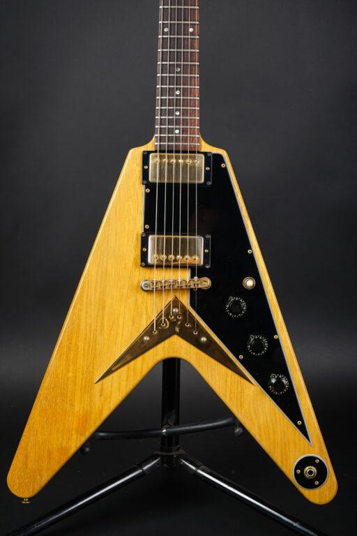 1982 Gibson Heritage Series Flying V Korina - Natural