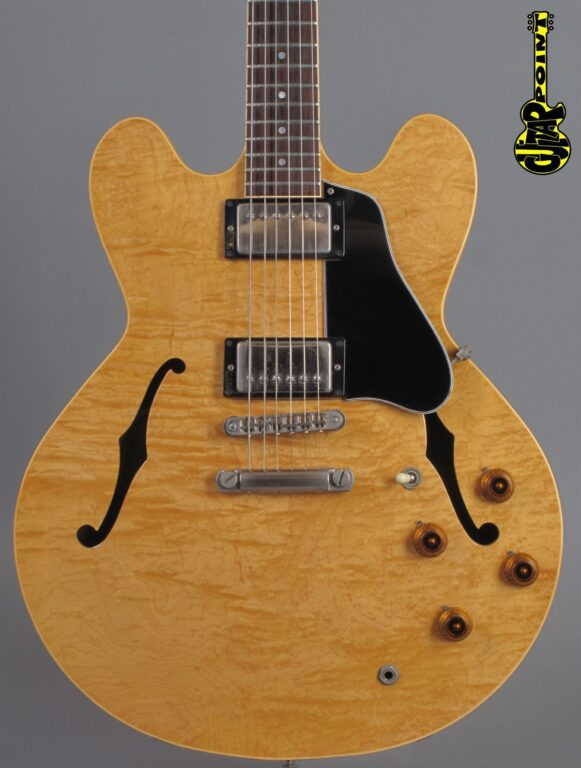 1984 Gibson ES-335 DOT Custom Shop - Antique Natural