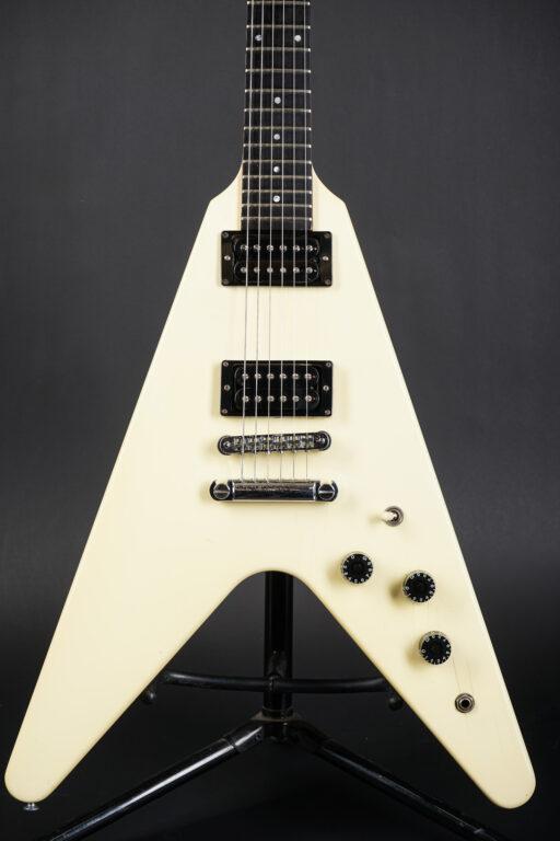 1985 Gibson Flying V - White