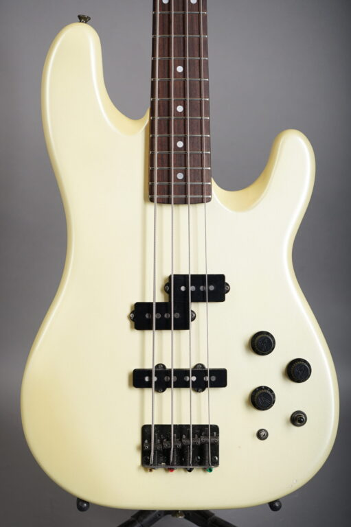 1988 Fender Contemporary Power Jazz Bass Special - White