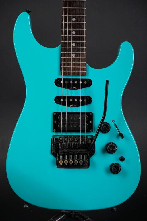 1989 Fender HM Strat - Ice Blue