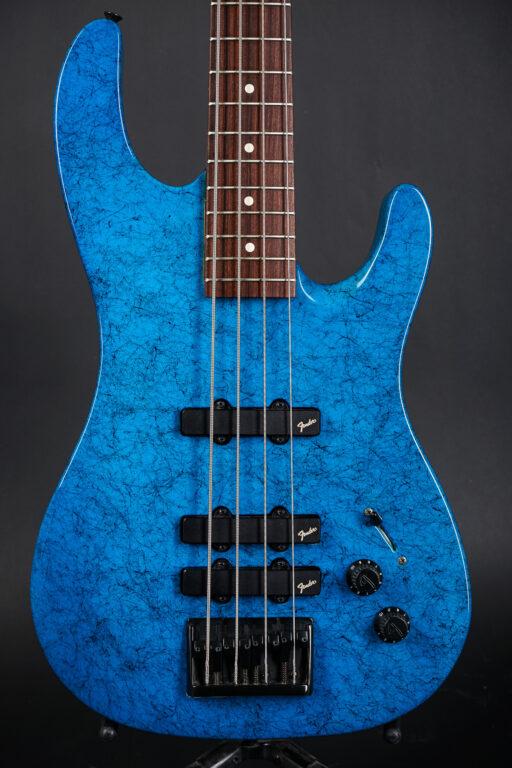 1990 Fender HM Bass - Blue