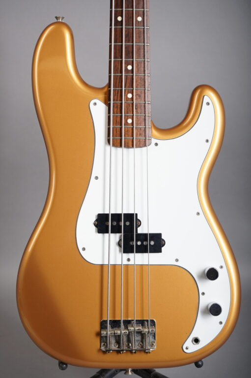 1990 Fender MIJ '62 Precision Bass - Gold