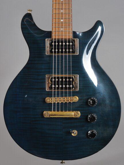 1992 Hamer Studio Archtop - Translucent Blue