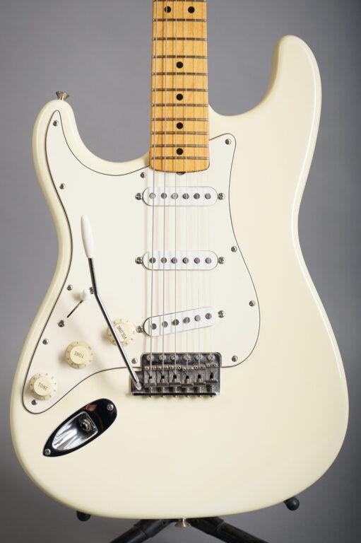 1997 Fender Jimi Hendrix Tribute Stratocaster - Olympic White