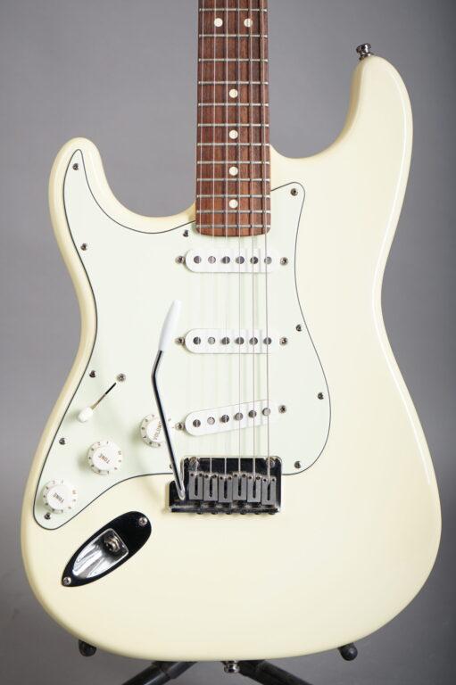 1999 Fender American Standard Stratocaster Lefthand - Olympic White