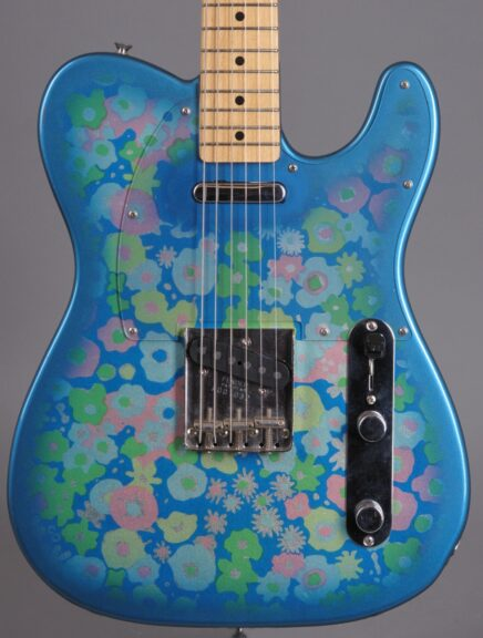 1999 Fender Telecaster - Blue-Flower - MIJ