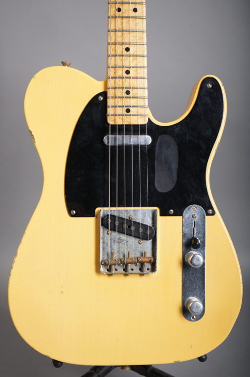 2002 Fender Custom Shop 1951 Nocaster / Telecaster Reissue Relic - Butterscotch