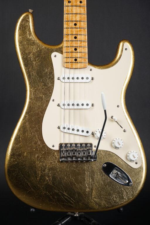 2003 Fender Custom Shop Gold Leaf Stratocaster 8 of 10