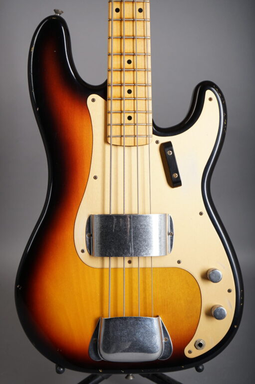 2005 Fender Custom Shop 1958 Precision Bass Relic LTD - Sunburst