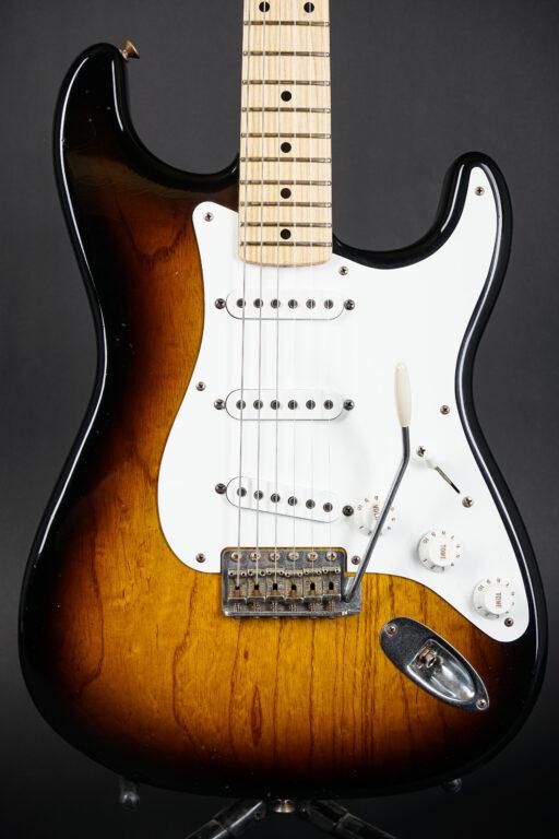 2005 Fender Greg Fessler Masterbuilt 1955 Relic Stratocaster - Sunburst