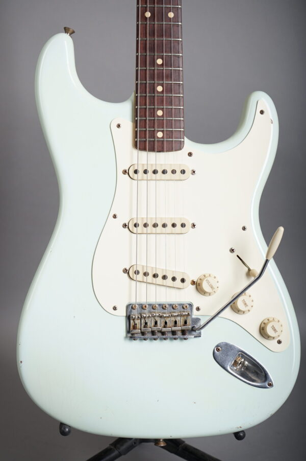 2005 Fender John English Master Design 1959 Stratocaster - Sonic Blue Relic