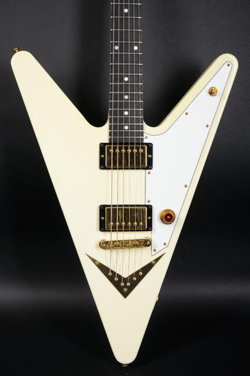 2007 Gibson Reverse Flying V - White