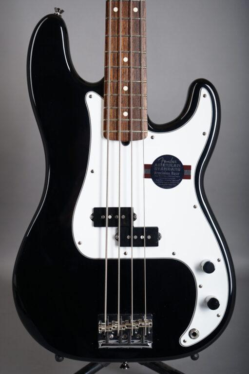 2008 Fender American Standard Precision Bass - Black