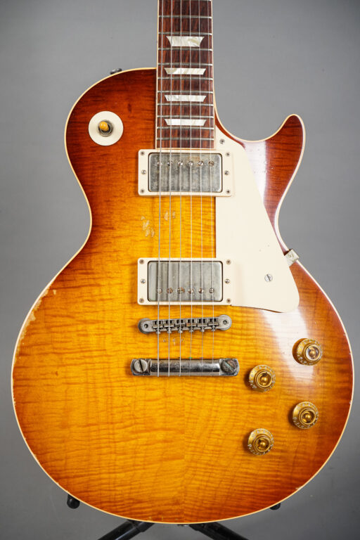 2009 Gibson Les Paul Billy Gibbons Pearly Gates Tom Murphy Aged