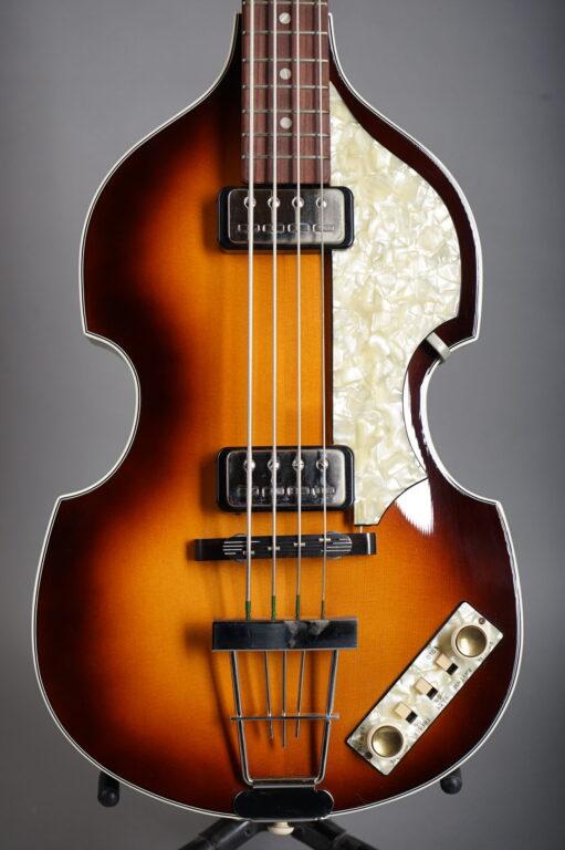 2010 Höfner Vintage 63 500/1 Beatles Bass - Sunburst