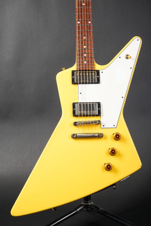 2013 Gibson Custom Shop 1958 Explorer - Aspen White VOS