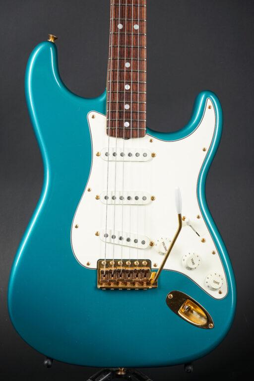 2014 Fender Yuriy Shishkov Masterbuilt 1965 Stratocaster NOS - Ocean Turquoise