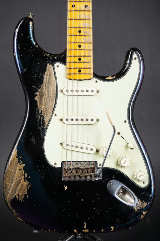 2015 Fender Dale Wilson Masterbuilt 1958 Stratocaster - Black/Chameleon Relic