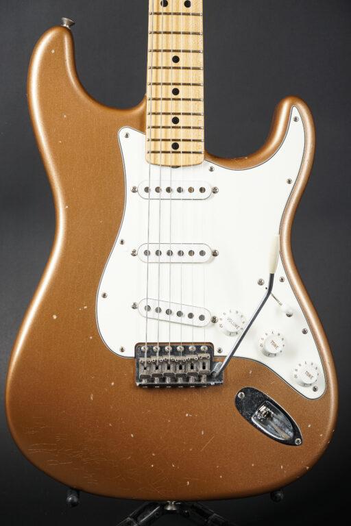 2015 Fender Greg Fessler Masterbuilt Select 1969 Strat - Firemist Gold