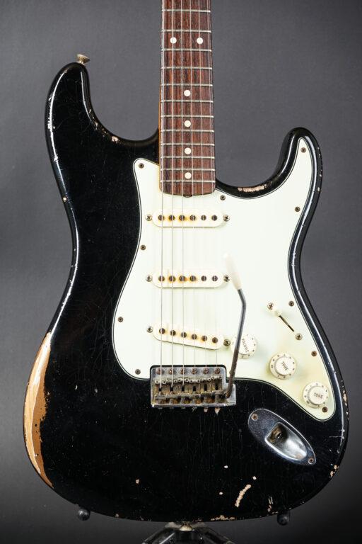 2015 Fender John Cruz Masterbuilt 1960 Stratocaster - Relic Black over Firemist-Gold