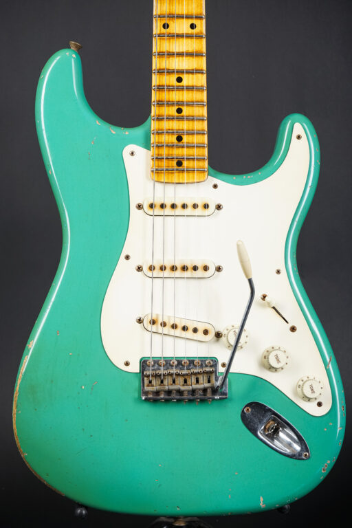 2016 Fender John Cruz Masterbuilt 1955 Stratocaster - Foam Green Relic