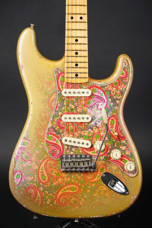 2017 Fender Dale Wilson Masterbuilt 1969 Gold Paisely Stratocaster