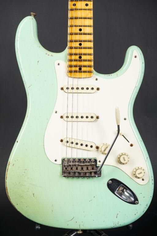 2017 Fender John Cruz Masterbuilt 1957 Stratocaster Relic - Surf Green