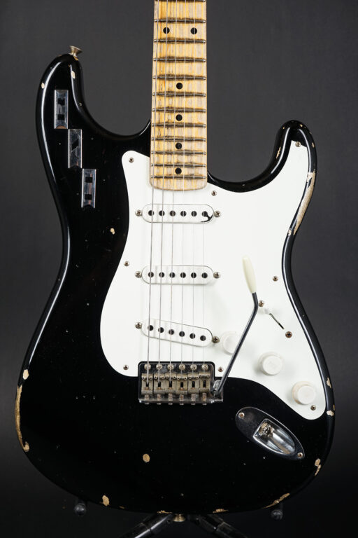 2017 Fender Masterbuilt Private Collection Dennis Galuszka HAR Stratocaster - Black