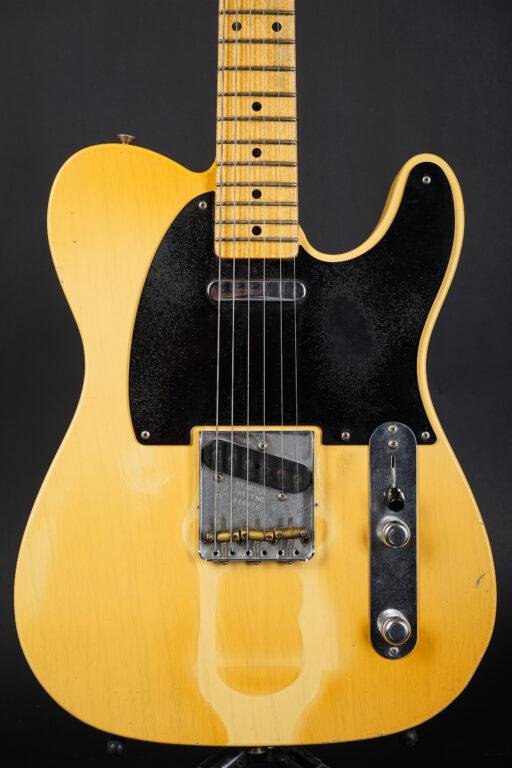 2017 Fender Paul Waller Masterbuilt 1953 Tan Line Telecaster Heavy Relic - Blonde