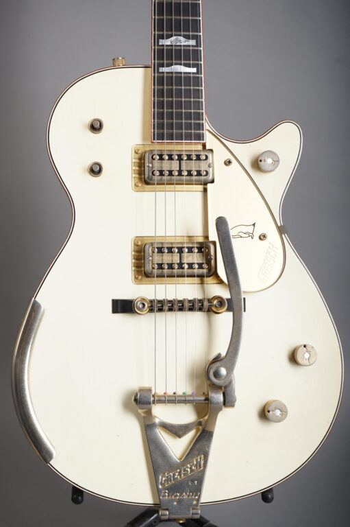 2018 Gretsch Custom Shop Stephen Stern Masterbuilt G6134-CS White Penguin - Relic
