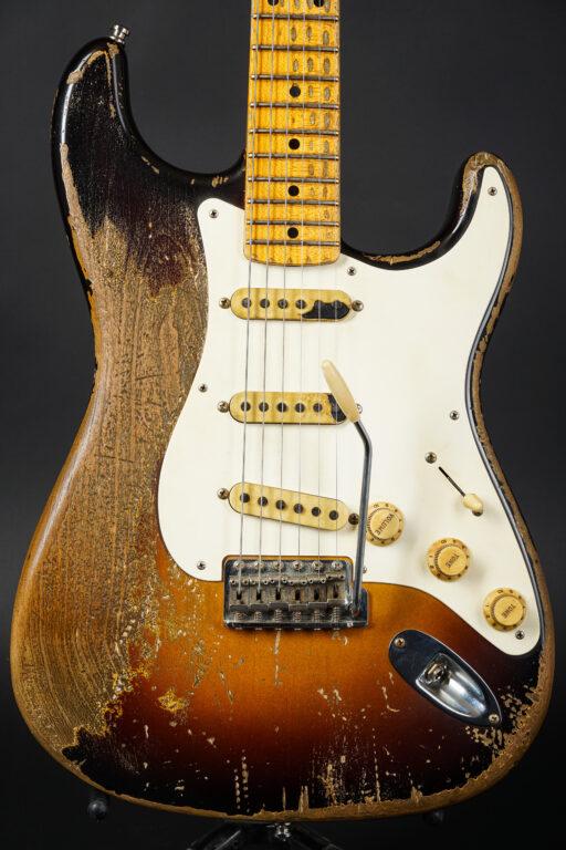 2019 Fender Jason Smith Masterbuilt 1957 Stratocaster Heavy Relic - Faded 2TS