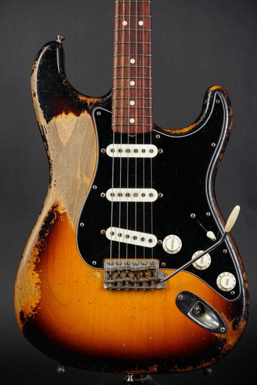 2020 Fender Dale Wilson Masterbuilt 1963 Stratocaster Heavy Relic - Sunburst