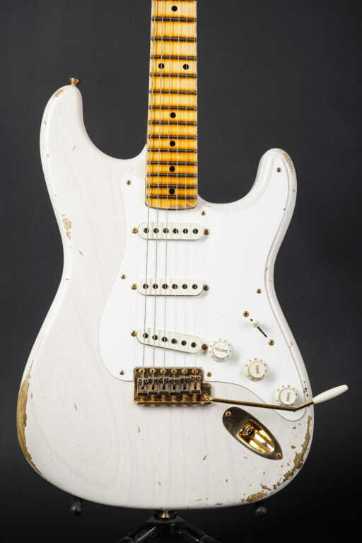 2021 Fender Ron Thorn Masterbuilt 1955 Stratocaster Mary Kaye - Blond