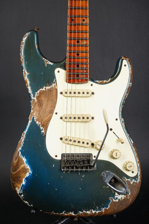 2021 Fender Vincent van Trigt Masterbuilt 1957 Heavy Relic Stratocaster - Aged Lake Placid Blue