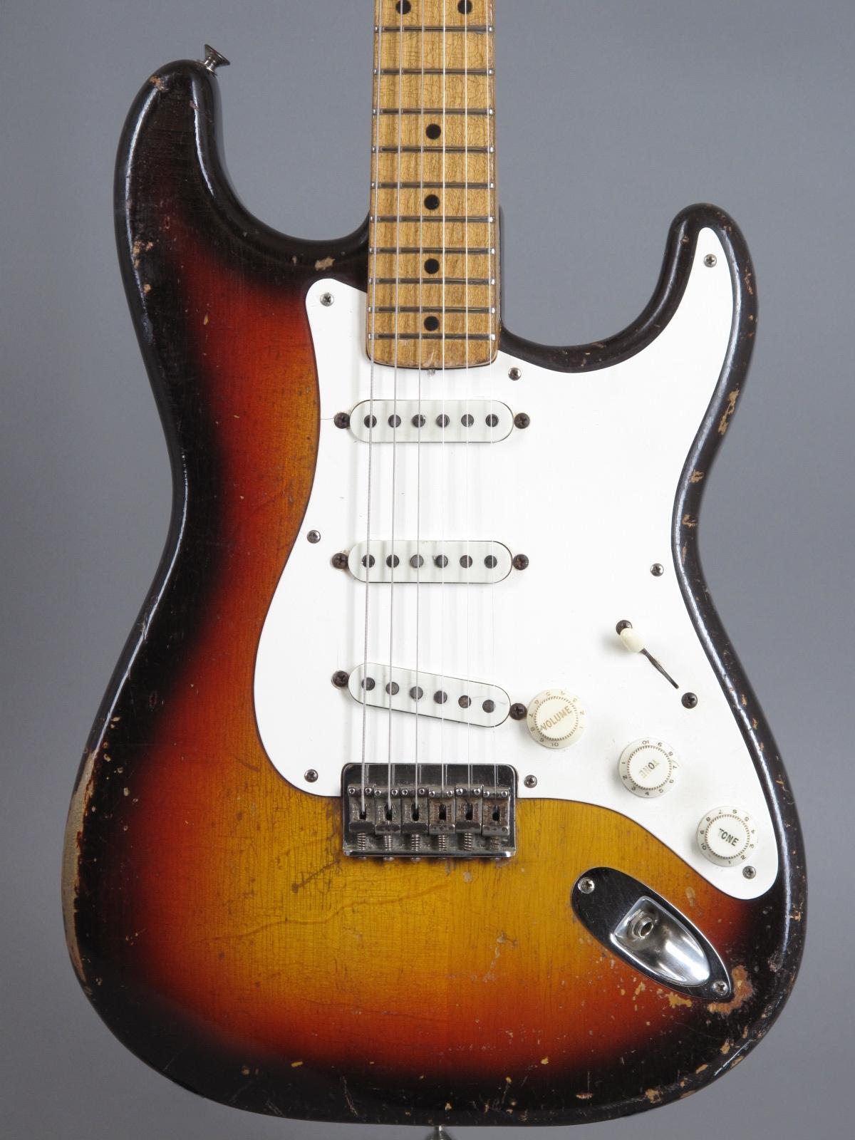 1958 Fender Stratocaster Hardtail - 3-t Sunburst ...only 2,99 Kg !!!