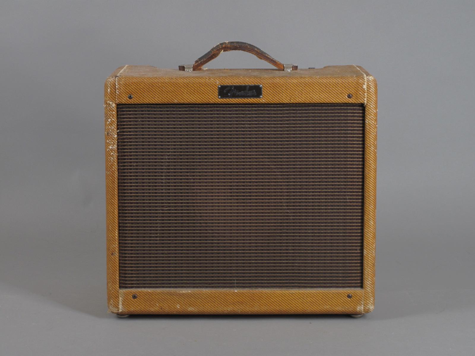 "1960 Fender Princeton ""Big Cab"" Tweed Amp"