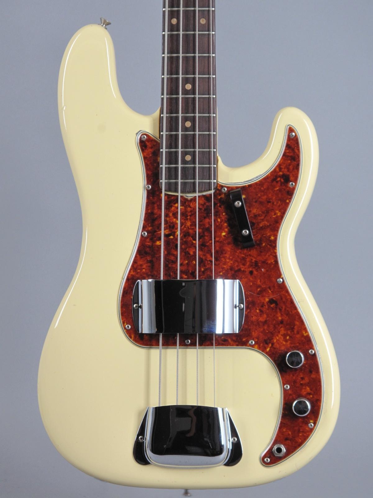 1963 Fender Precision - Olympic White
