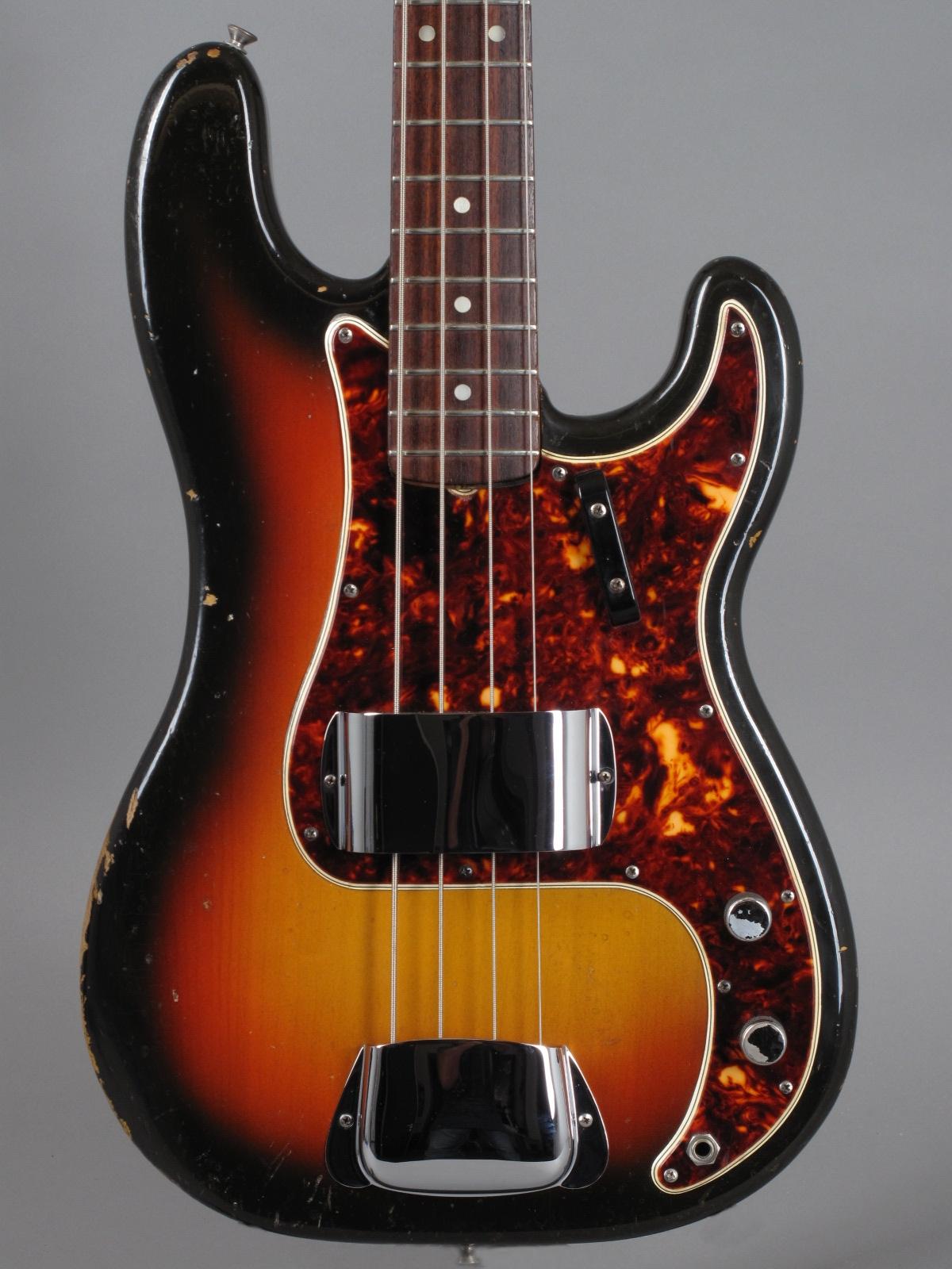 1965 Fender Precision - 3-tone Sunburst