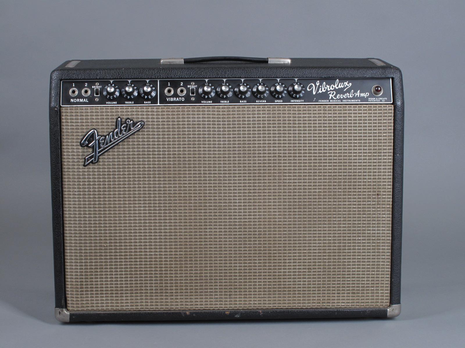 "1966 Fender Vibrolux Reverb Amp - ""Blackface"""
