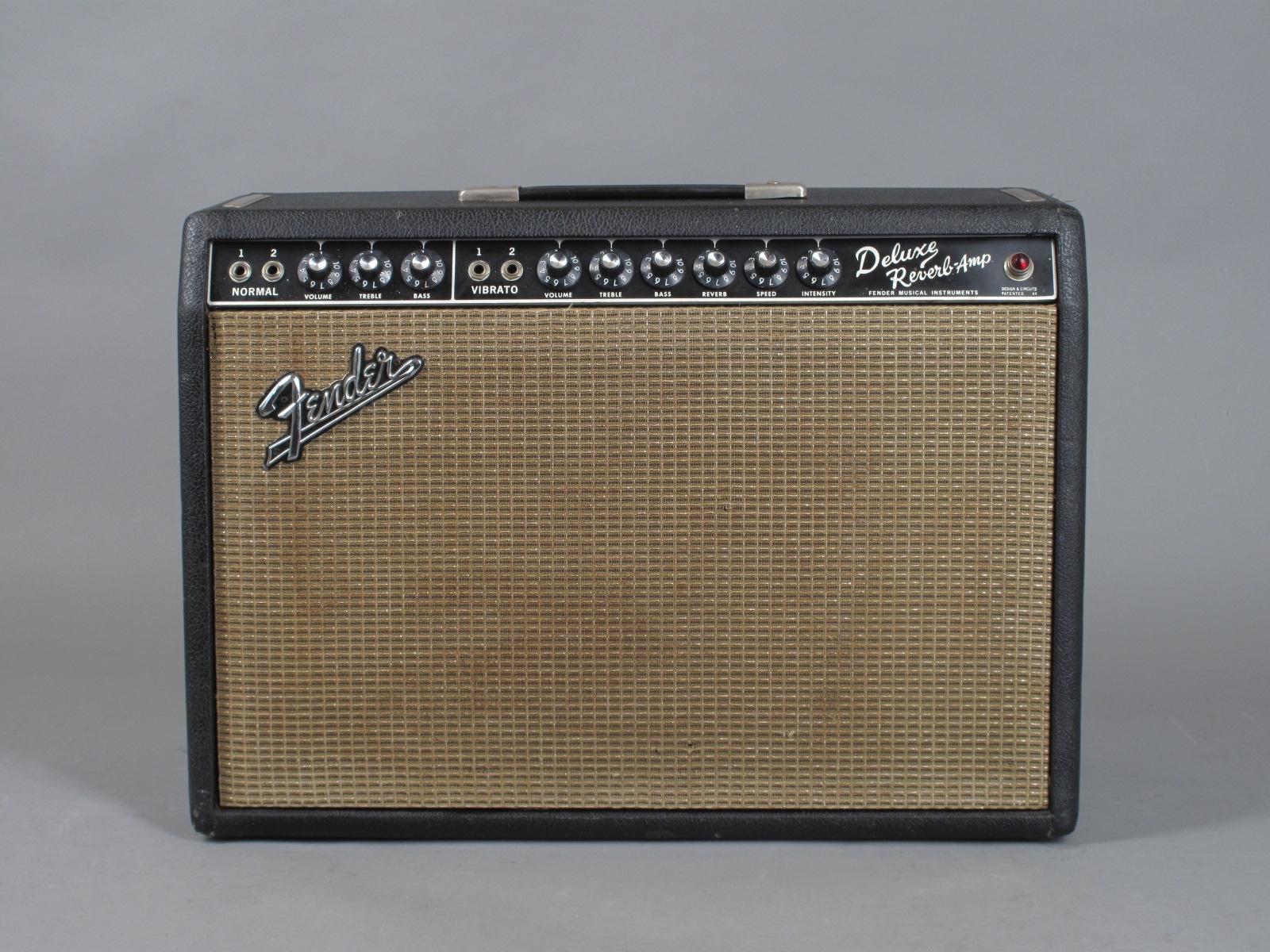 1967 Fender Deluxe Reverb Amp - Blackface