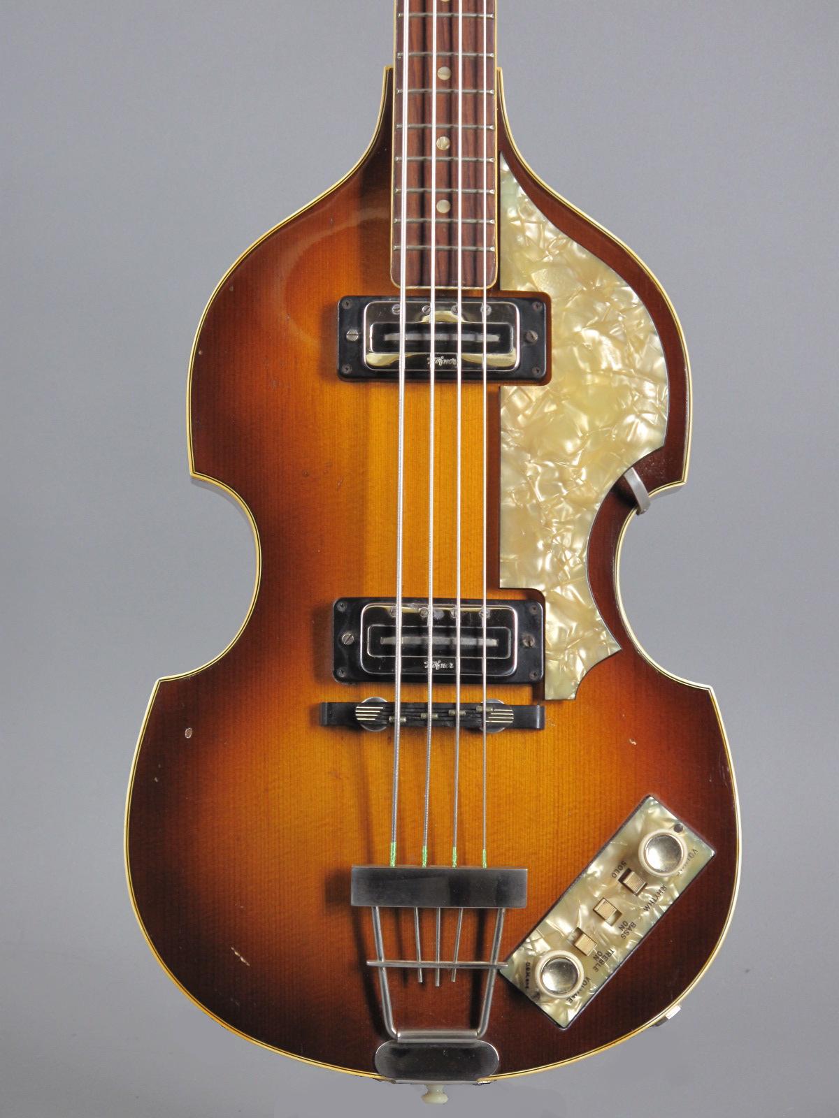 """1968 Höfner 500/1 """"Beatles Bass"""" - Sunburst"""