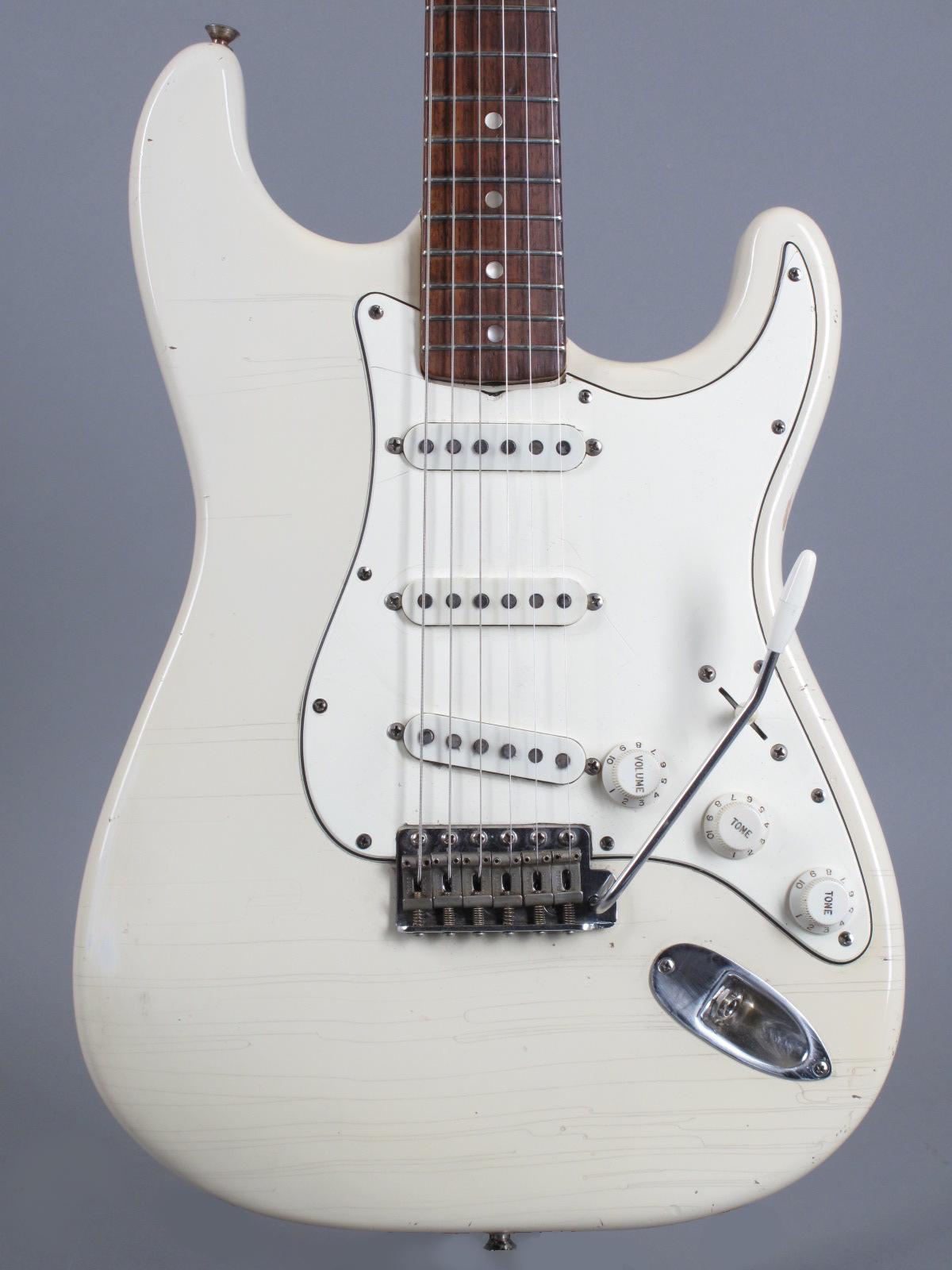1969 Fender Stratocaster - Olypmpic White Refin