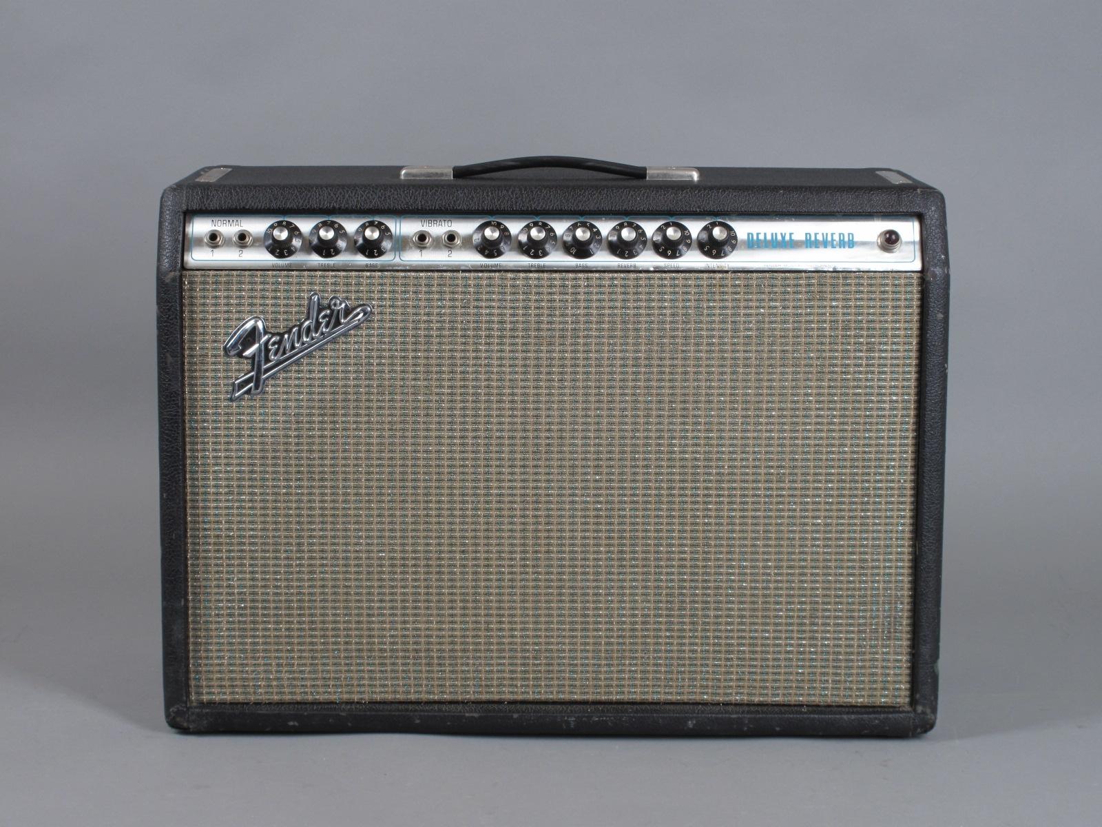 1971 Fender Deluxe Reverb Amplifier