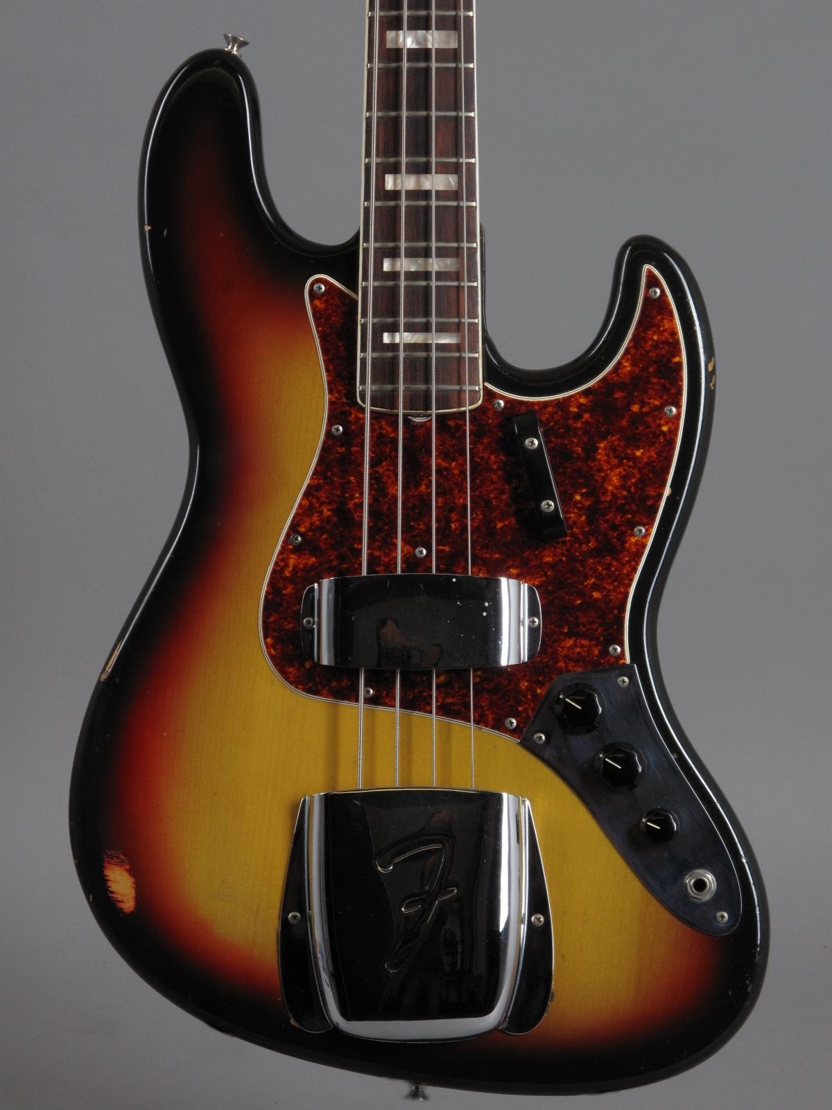 1972 Fender Jazz Bass - 3t-Sunburst