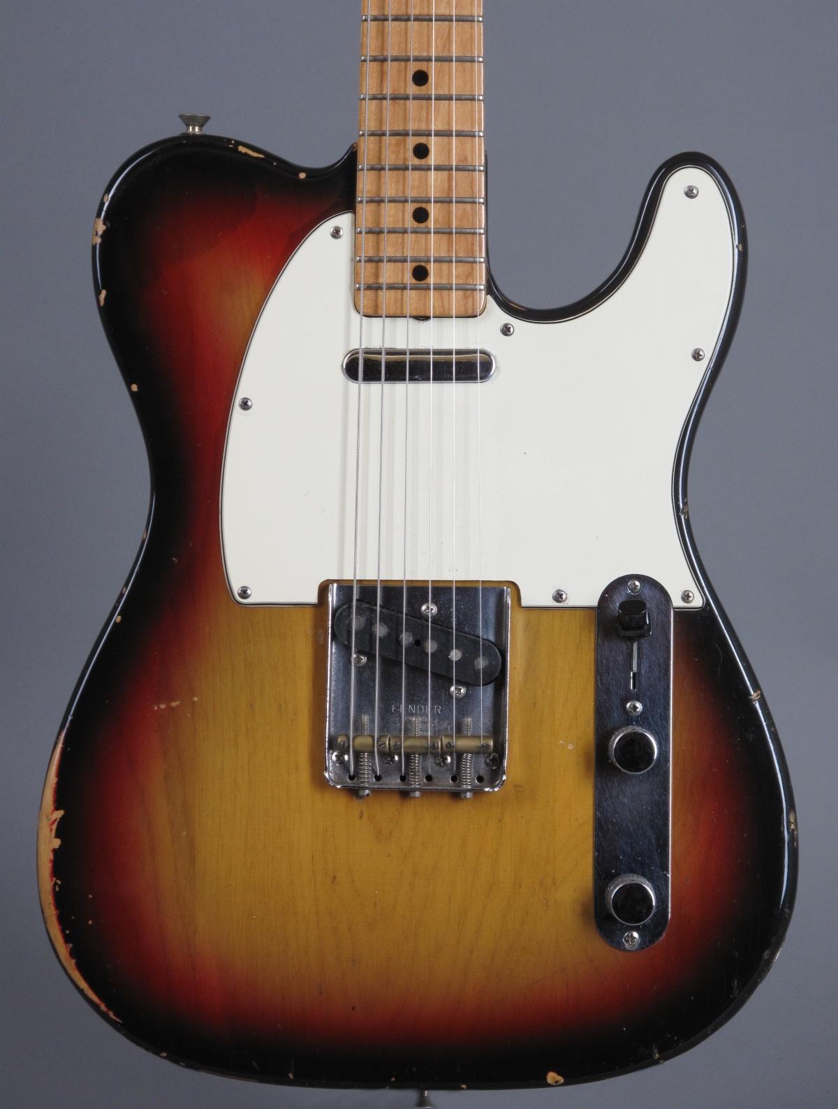 1972 Fender Telecaster - 3-tone Sunburst