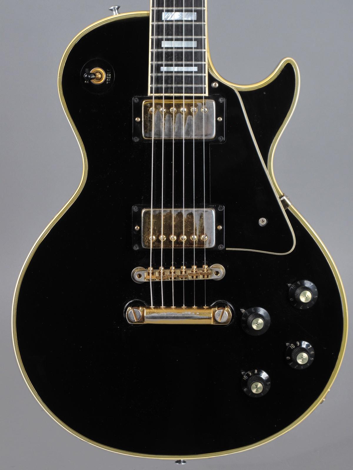 1973 Gibson Les Paul Custom - Ebony