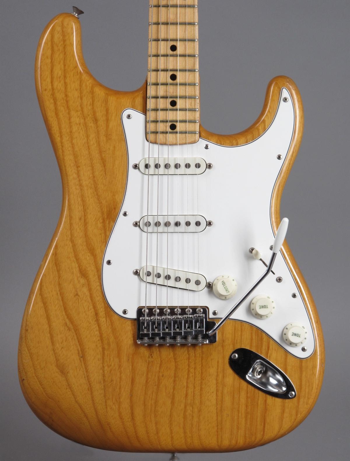 1974 Fender Stratocaster - Natural