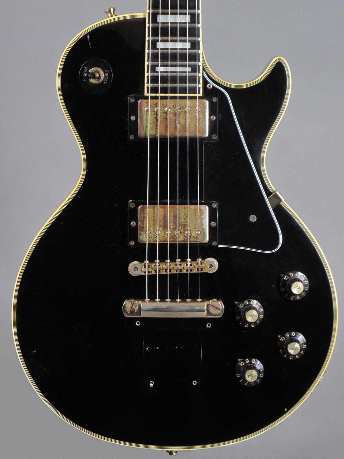 1974 Gibson Les Paul Custom - Ebony